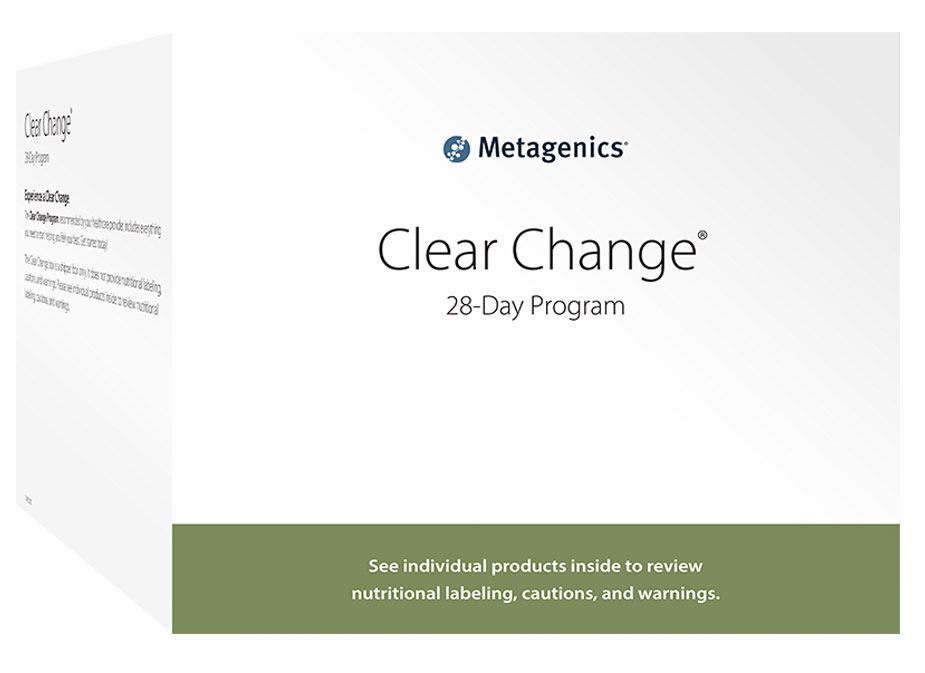 Clear Change 28 Day Guided Detox Kit
