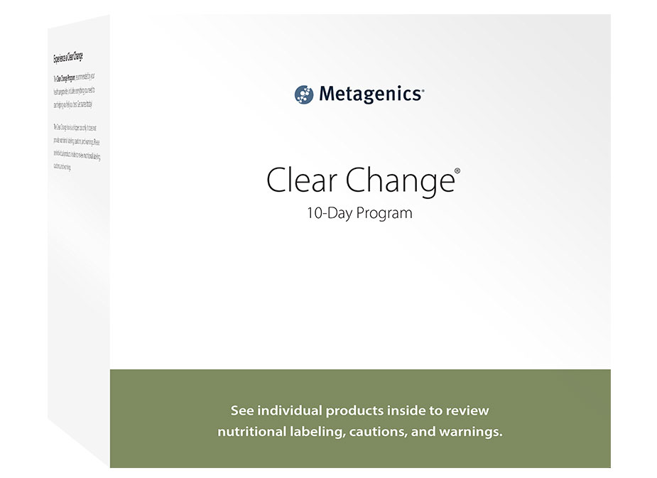 Clear Change 10 Day Guided Detox Kit