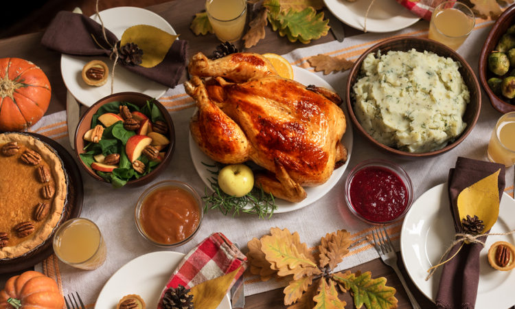 5 Things To Do To Prevent Bloating On Thanksgiving And Holiday Meals